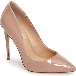 💗STEVE MADDEN DAISIE PATENT LEATHER PUMPS - BLUSH